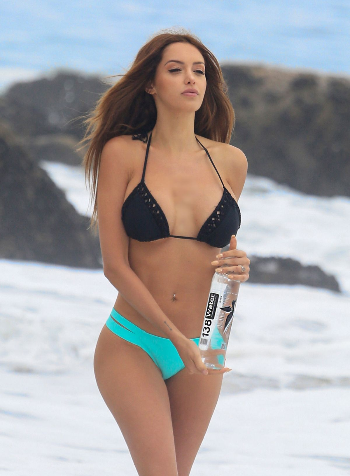 Nabilla Benattia In Bikini For 138 Water Photoshoot At
