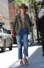NAOMI WATTS in Jeans Out in New York 04/18/2017