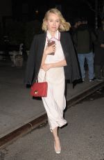 NAOMI WATTS Leaves Turtle Ball in New York 04/18/2017