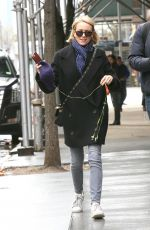 NAOMI WATTS Out and About in New York 04/04/2017