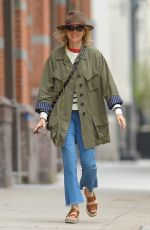 NAOMI WATTS Out and About in New York 04/24/2017