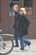 NAOMI WATTS Out in New York 04/05/2017