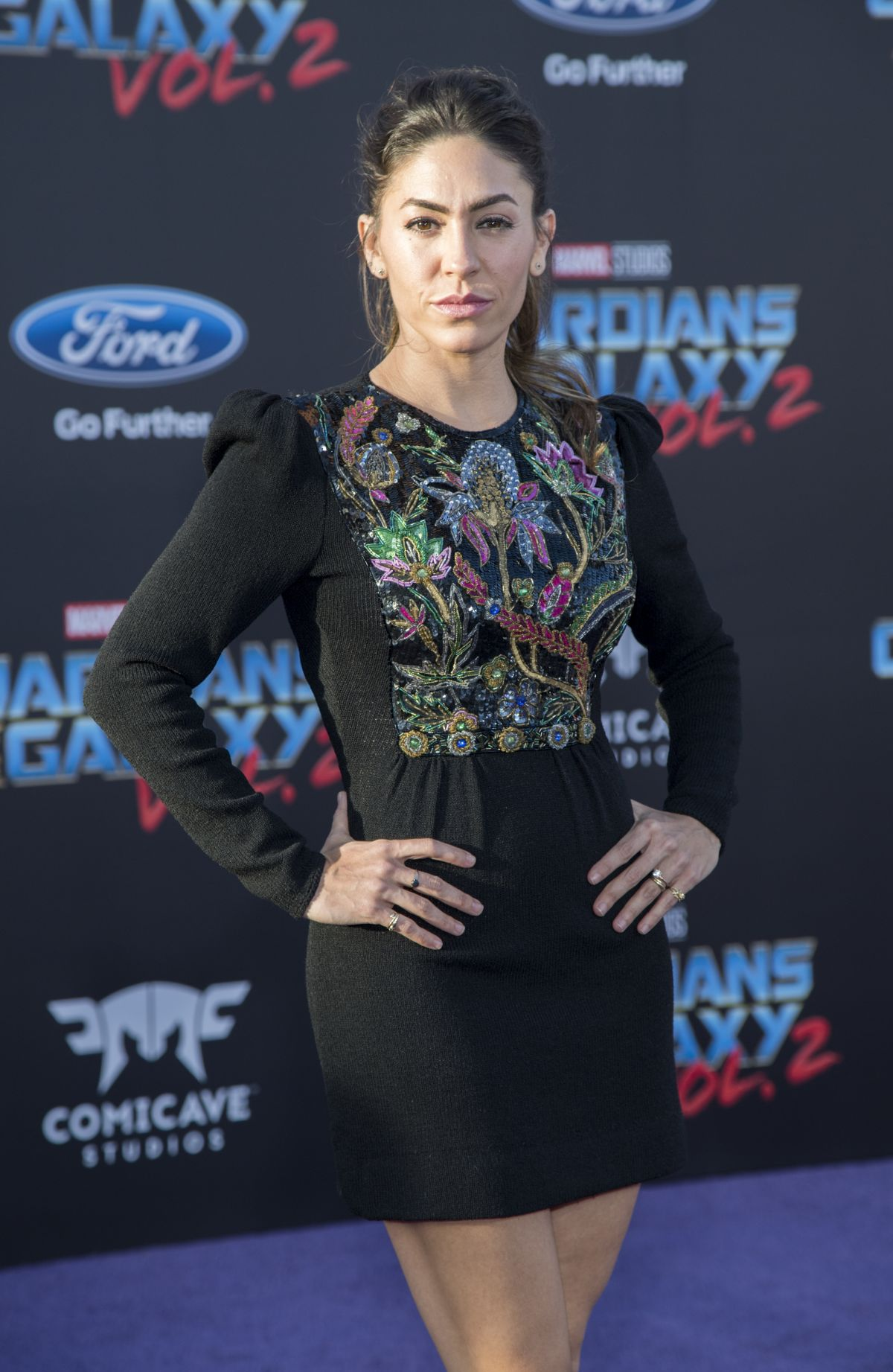 NATALIA CORDOVA-BUCKLEY at Guardians of the Galaxy Vol. 2 Premiere in Hollywood 04/19/2017