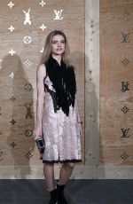 NATALIA VODIANOVA at Louis Vuitton Dinner Party in Paris 04/11/2017