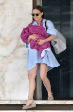 NATALIE PORTMAN at a Medical Center in Beverly Hills 04/07/2017