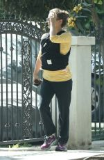 NATALIE PORTMAN Out and About in Los Feliz 04/06/2017