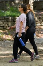 NATALIE PORTMAN Out Hikking in Los Angeles 04/14/2017