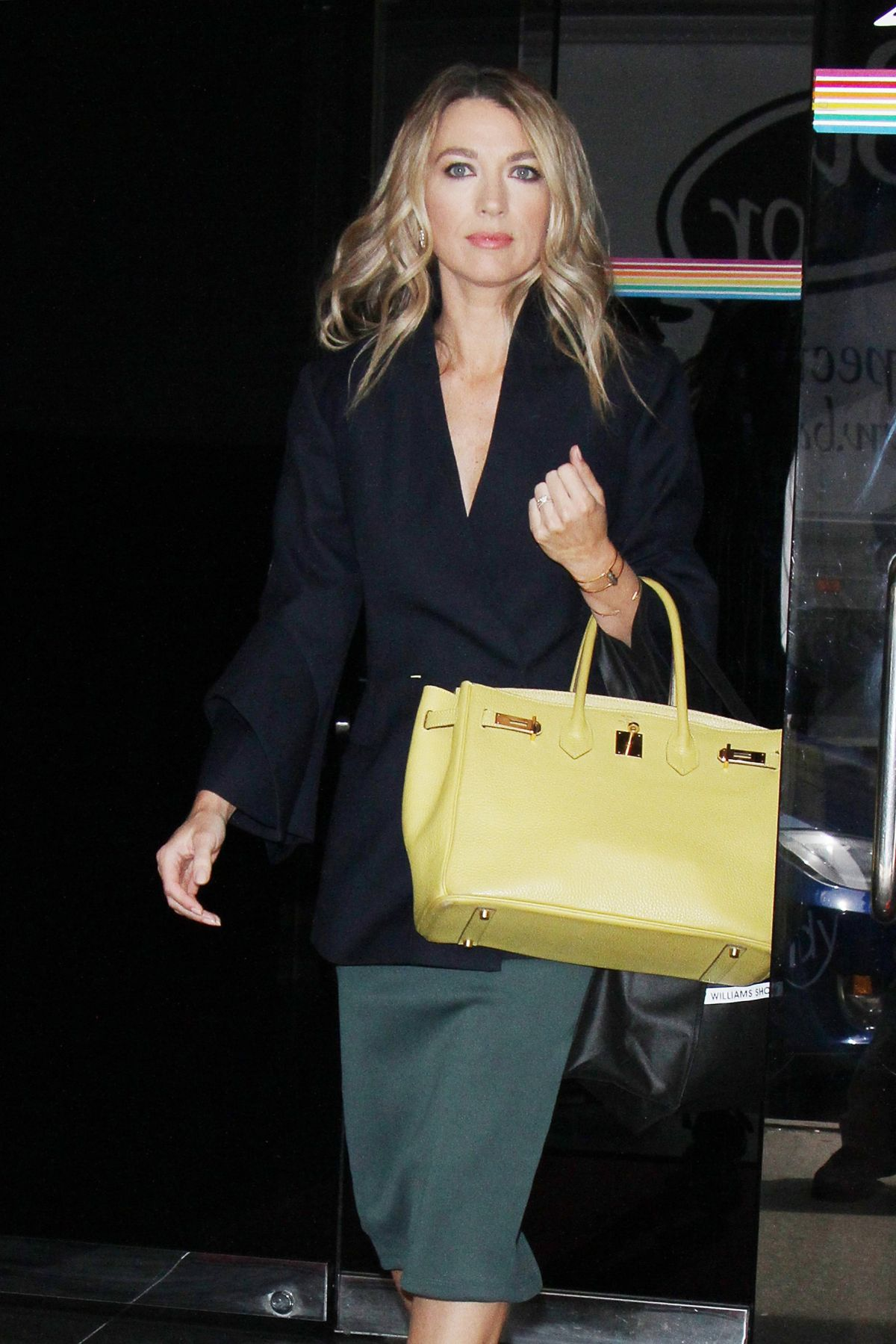 NATALIE ZEA Arrives at Wendy Williams Show in New York 04/13/2017