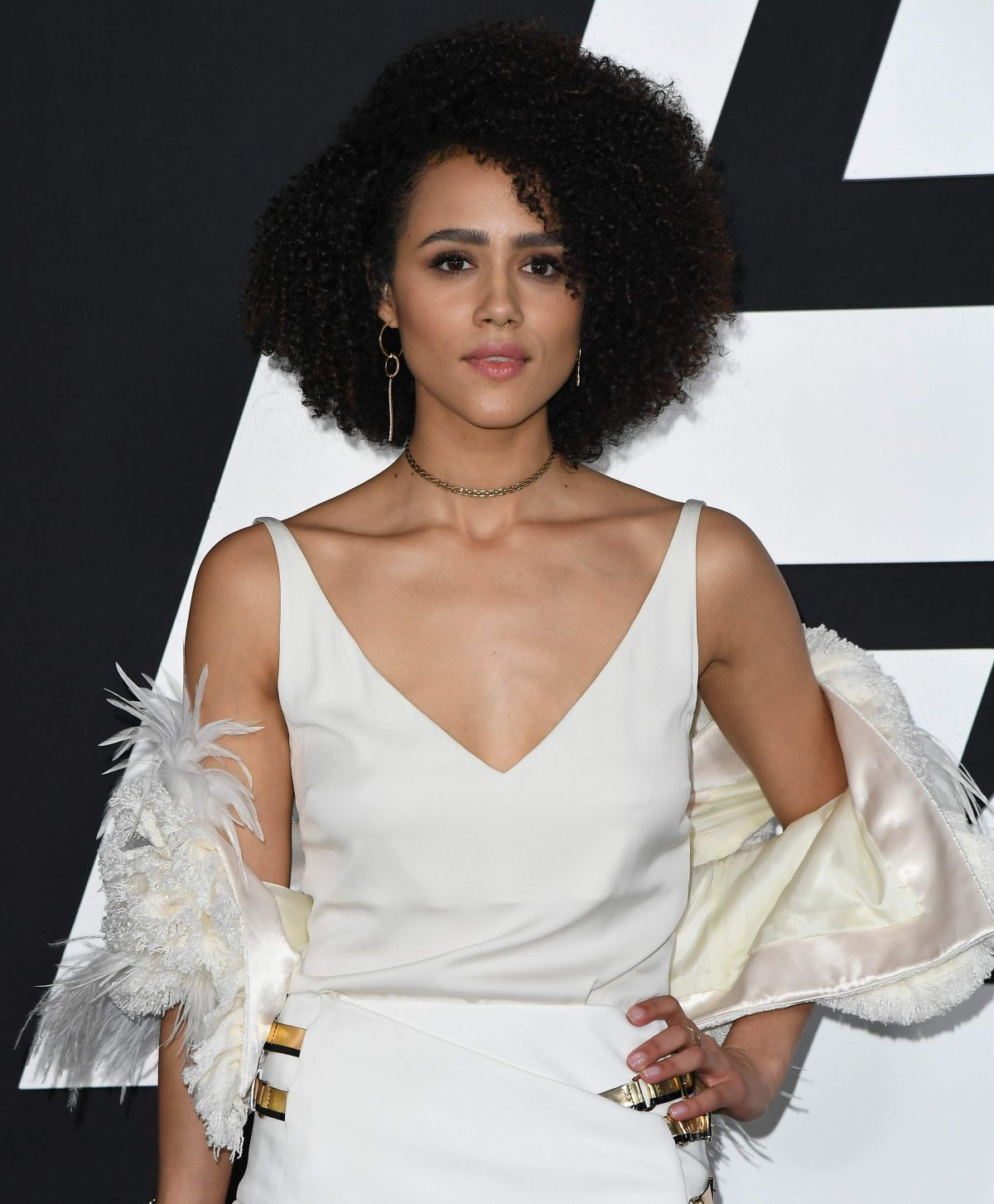 NATHALIE EMMANUEL at The Fate of the Furious Premiere in New York 04/08/2017