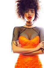 NATHALIE EMMANUEL for Fabulous Magazine, April 2017
