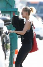 NICOLE RICHIE Leaves a Gym in Los Angeles 04/10/2017