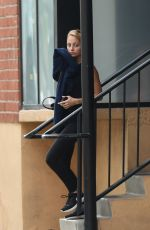 NICOLE RICHIE Leaves a Gym in Los Angeles 04/13/2017