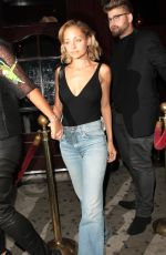 NICOLE RICHIE Leaves Peppermint Club in West Hollywood 04/22/2017