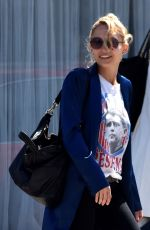 NICOLE RICHIE Out and About in Los Angeles 04/13/2017