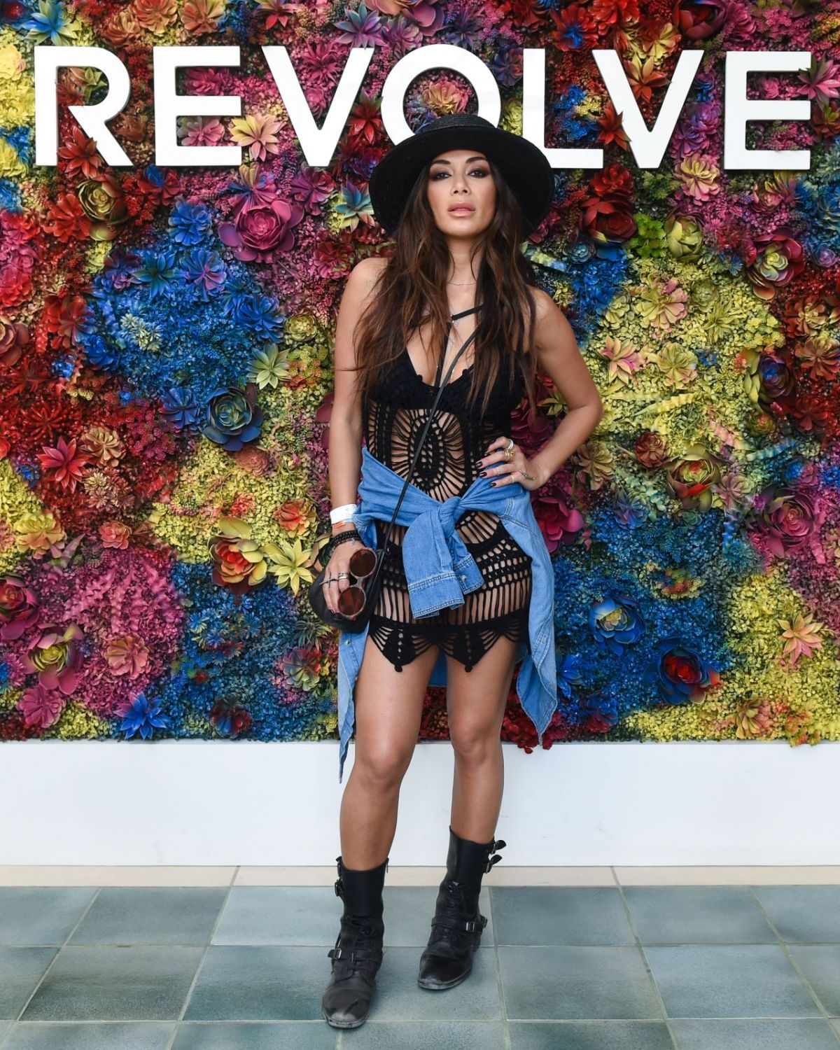 NICOLE SCHERZINGER at Revolve Festival Day 2 at Coachella Valley Festival in Indio 04/16/2017