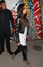 NICOLE SCHERZINGER Leaves Tao Nightclub in Hollywood 04/05/2017