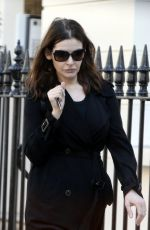 NIGELLA LAWSON Out and About in London 04/08/2017