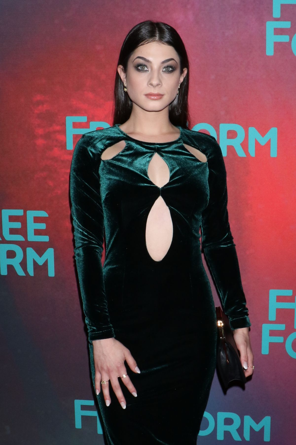 NIKI KOSS at 2017 Freeform Upfront in New York 04/19/2017