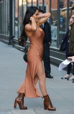 NIKKI BELLA Arrives at SiriusXM Studios in New York 04/05/2017