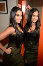 NIKKI BELLA at Backstage of The Chew 04/06/2017
