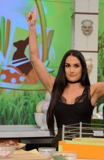 NIKKI BELLA at The Chew 04/07/2017
