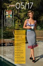 NINA AGDAL in Glamour Magazine, Germany May 2017 Issue
