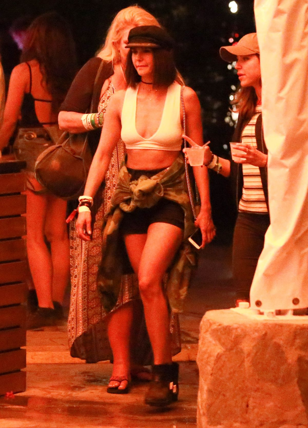 NINA DOBREV at Coachella Festival in Indio 04/14/2017