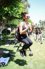 NINA DOBREV at Reebok Classic Crib at La Quinta in Los Angeles 04/23/2017