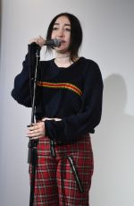 NOAH CYRUS at Iheart Radio Station Y-100 in Fort Lauderdale 04/19/2017
