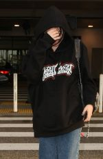 NOAH CYRUS at LAX Airport in Los Angeles 04/26/2017