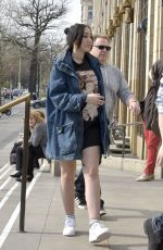 NOAH CYRUS Out and About in Berlin 03/31/2017
