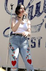 NOAH CYRUS Performs at Lucky Lounge Desert Jam in Palm Springs 04/15/2017