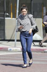NORA ZEHETNER Out and About in Los Angeles 03/30/2017