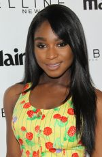 NORMANI KORDEI at Marie Claire Celebrates Fresh Faces in Los Angeles 04/21/2017