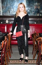 ODESSA YOUNG at Chanel Artists Dinner at Tribeca Film Festival in New York 04/24/2017