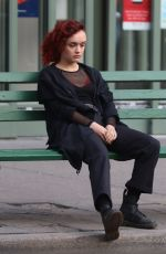 OLIVIA COOKE on the Set of Life Itself in New York 04/05/2017