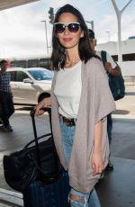 OLIVIA MUNN at Los Angeles International Airport 04/16/2017