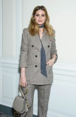 OLIVIA PALERMO at Fragrance Foundation Awards Finalist's Luncheon in New York 04/07/2017