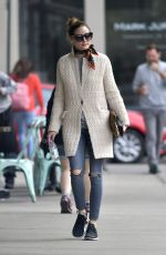OLIVIA PALERMO Out in New York 04/16/2017