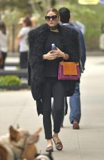 OLIVIA PALERMO Out in New York 04/17/2017