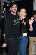 OLIVIA WILDE at In of Itself Opening Night on Broadway in New York 04/12/2017