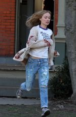 OLIVIA WILDE on the Set of Life Itself in New York 04/05/2017
