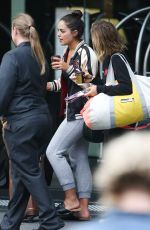 OLYMPIA VALANCE Leaves Her Hotel in Melbourne 04/24/2017