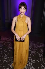 OPHELIA LOVIBOND at Olivier Awards in London 04/09/2017