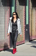 PADMA LAKSHMI Out and About in New York 04/05/2017