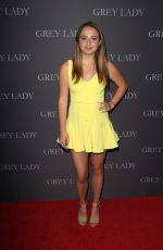 PAIGE LINDGREN at Grey Lady Premiere in Los Angeles 04/26/2017