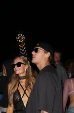 PARIS HILTON and Chris Zylka Night Out at 2017 Coachella Music Festival 04/15/2017