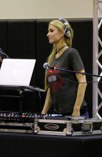 PARIS HILTON at DJ Set at Equinox in Los Angeles 04/12/2017