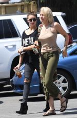 PARIS JACKSON Out Shopping in Los Angeles 04/03/2017