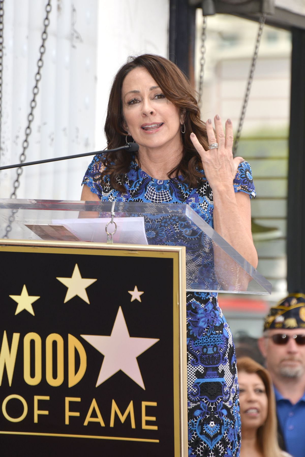 PATRICIA HEATON at Gary Sinise Honored with Star on Hollywood Walk of Fame 04/17/2017